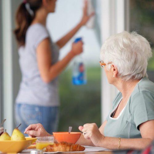 Huishoudelijke verzorging